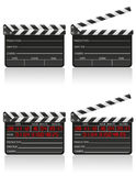 Clapper board vector illustration Royalty Free Stock Photos