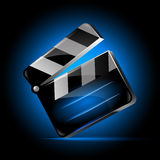 Clapper Board Vector For Movie Or Film, Vector illustration Royalty Free Stock Photo