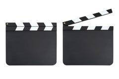 Clapper boards Stock Image