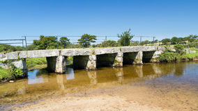 Clapper Bridge Bodmin Moor Cornwall Stock Image