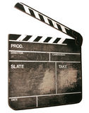 clapper film Obrazy Royalty Free