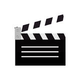 Clapper film movie icon design Stock Photos