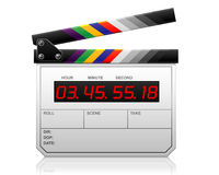 clapper lcd Obrazy Royalty Free