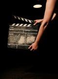clapper movie Στοκ εικόνες με δικαίωμα ελεύθερης χρήσης