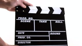 Clapper stock video