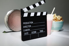 Clapperboard Imagens de Stock Royalty Free