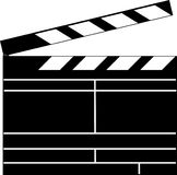 Clapperboard Royalty Free Stock Photography