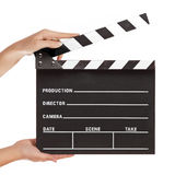 clapperboard Photographie stock