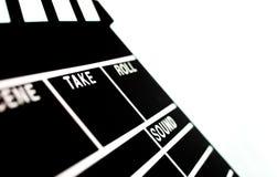 Clapperboard abstracto Foto de archivo