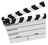The clapperboard Stock Images