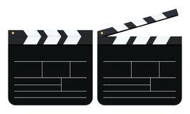 Clapperboard de la maqueta Ilustración del vector Fotos de archivo libres de regalías