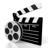 Clapperboard, movies concept Stock Photo