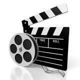 Clapperboard, movies concept Royalty Free Stock Image