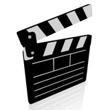 Clapperboard, movies concept Royalty Free Stock Images