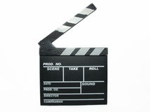 Clapperboard Fotos de Stock Royalty Free