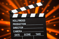 Clapperboard or slate board Royalty Free Stock Photography