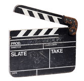 Clapperboard slate Royalty Free Stock Images