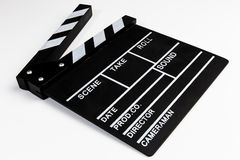 Clapperboard view Stock Images