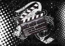 clapperboardfilm vektor illustrationer
