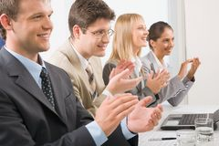 Clapping Royalty Free Stock Photos