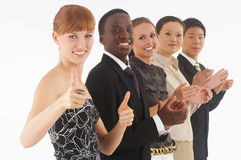 Clapping Royalty Free Stock Photography