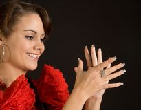 Clapping flamenco Stock Photos