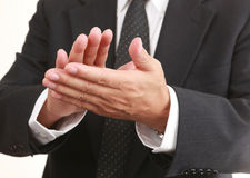 Clapping hands Stock Images