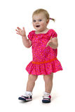 Clapping toddler Royalty Free Stock Images