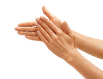 Free Clapping! Women S Hands Going To Applause Royalty Free Stock Photo - 70227465