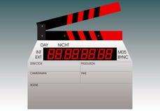 Claquete para o cinema Imagem de Stock Royalty Free