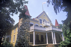Clara Barton House, Glen Echo, Maryland lizenzfreie stockfotos