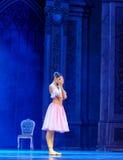 Clara começou a quebra-nozes do bailado do sonho- fotografia de stock royalty free