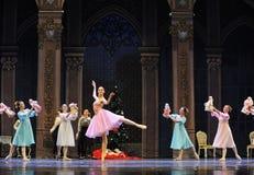 Clara et son casse-noix de ballet d'amis-Le Image stock