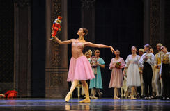 Clara favorite-The Ballet  Nutcracker Royalty Free Stock Image