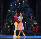Clara looked around curiously- The second act second field candy Kingdom -The Ballet  Nutcracker Stock Photos
