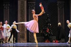 Clara the most likes doll-The Ballet  Nutcracker Stock Images