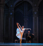 Clara na quebra-nozes do bailado do país das maravilhas- fotografia de stock royalty free