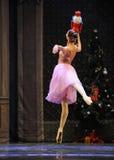 Clara najwięcej podobieństwo lali baleta dziadek do orzechów Fotografia Royalty Free