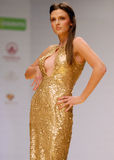 Clara Rotescu Collection on Catwalk at Bucharest Fashion Week Show Stock Images