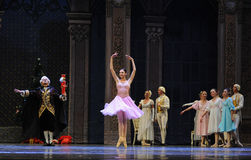 Clara's godfather Deluo Saier Myer took out the Nutcracker ugly in one's appearance-The Ballet  Nutcracker Stock Photography