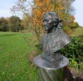 Clara Schumann i Baden-Baden, Tyskland Arkivbild