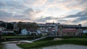 Clara-un-nova de Santa de monastère, Coimbra, Portugal Images libres de droits