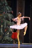 Clara zakończenie - Baletniczy dziadek do orzechów Obraz Royalty Free