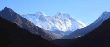 Claramente Everest Fotografía de archivo