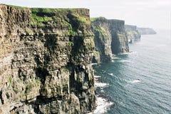 clare峭壁爱尔兰西方liscannor的moher 库存图片
