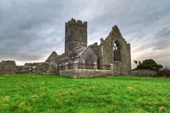 Clare Abbey. Ruins of Clare Abbey - HDR Stock Photography