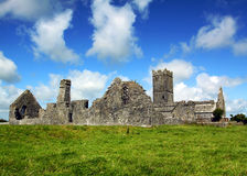 Clare Abbey Co. Clare Ireland. Clare Abbey, Ennis, Co. Clare, Ireland on a lovely sunny summers day Royalty Free Stock Photos