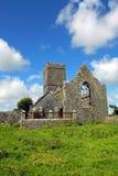 Clare-Abtei Co. Clare Irland Stockbild