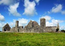 Clare-Abtei Co. Clare Irland Lizenzfreie Stockfotos