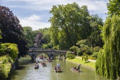 Clare Bridge in Cambridge Stock Images